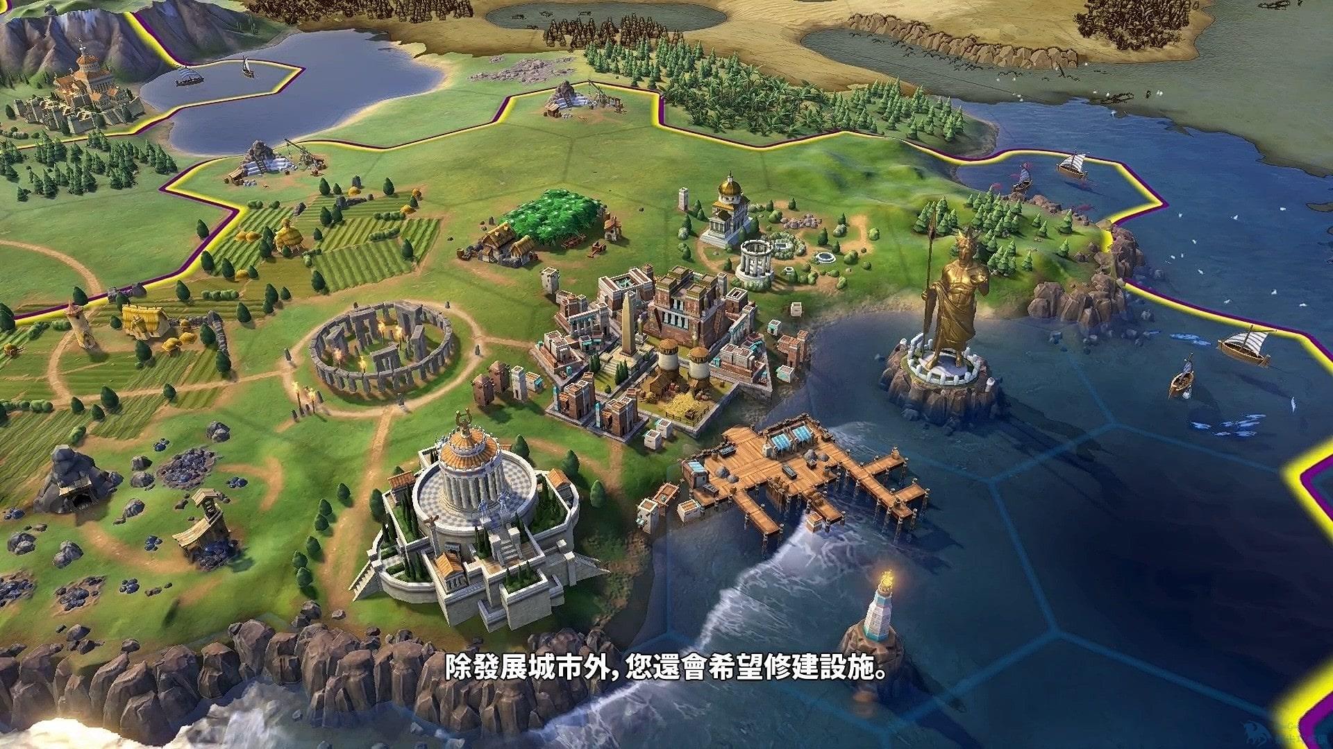 《文明6》「建造者」單位中文展示 高效發展帝國