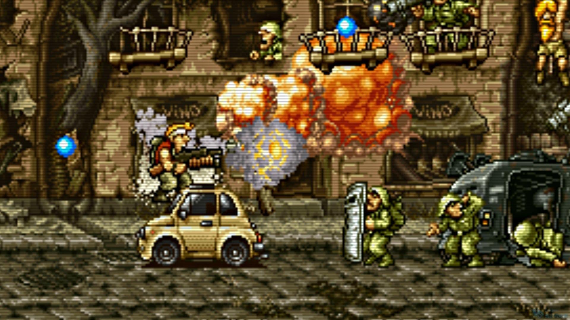 《合金彈頭》合集將登陸PS4 重溫兒時經典
