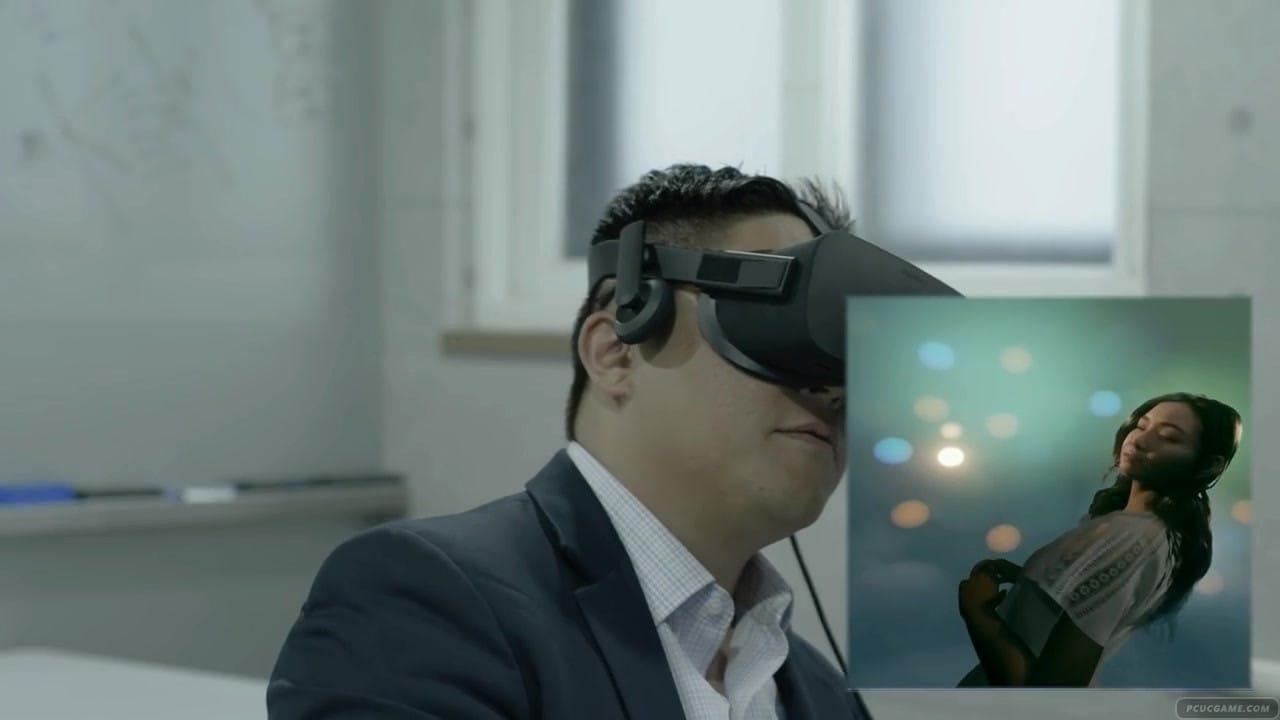 虛幻4打造VR美女交互遊戲 宅男激動體驗上下其手