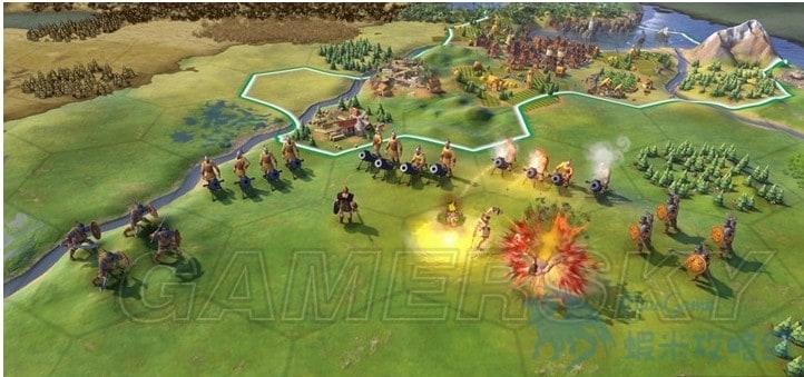 文明帝國 6 前期野蠻人打法技巧 怎麼打蠻族