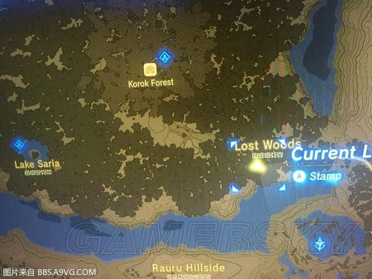 薩爾達傳說荒野之息 DLC寶箱位置地圖
