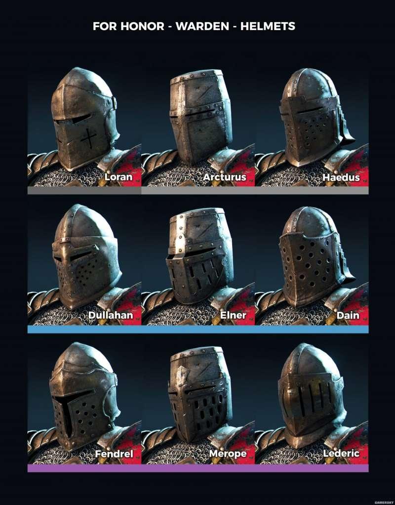 榮耀戰魂 看守者武器與裝備圖鑑 看守者裝備外觀介紹