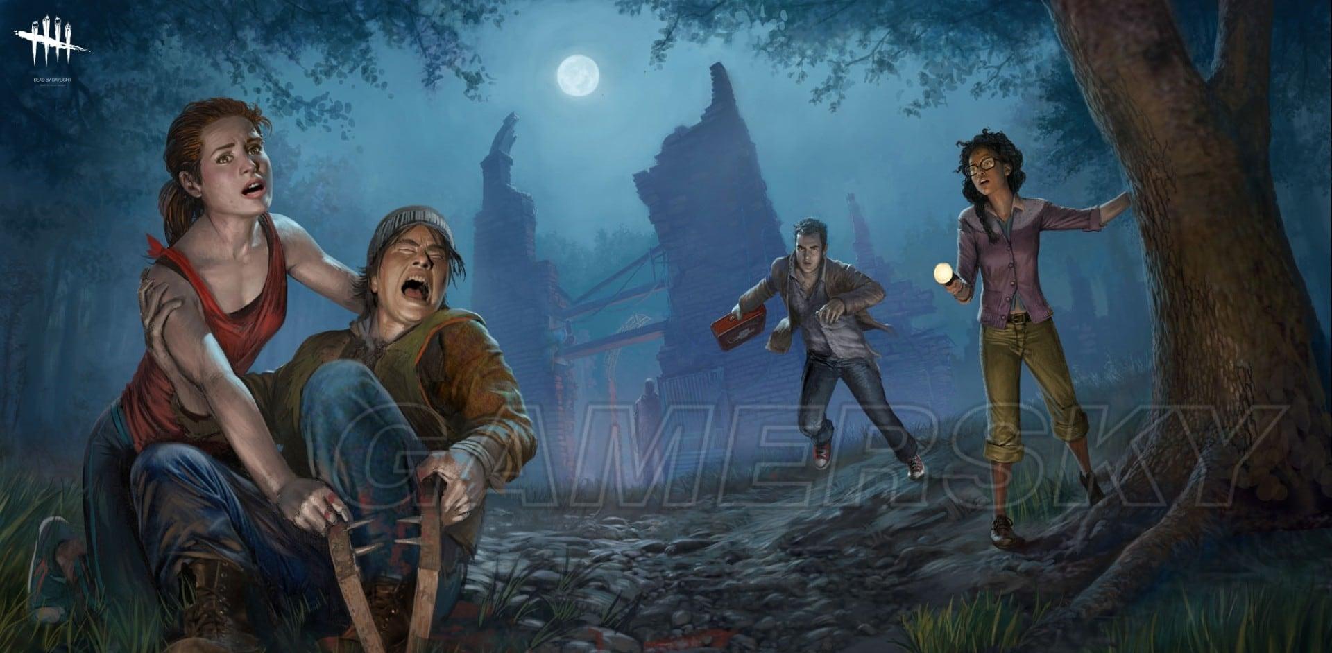 黎明死線 Dead by Daylight 倖存者玩法心得 眼鏡男與黑妹玩法感受