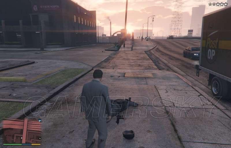 GTA5 不被通緝幹掉警察方法介紹