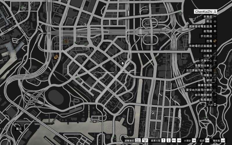 GTA5 飛車特技地點 全50個飛車特技地點