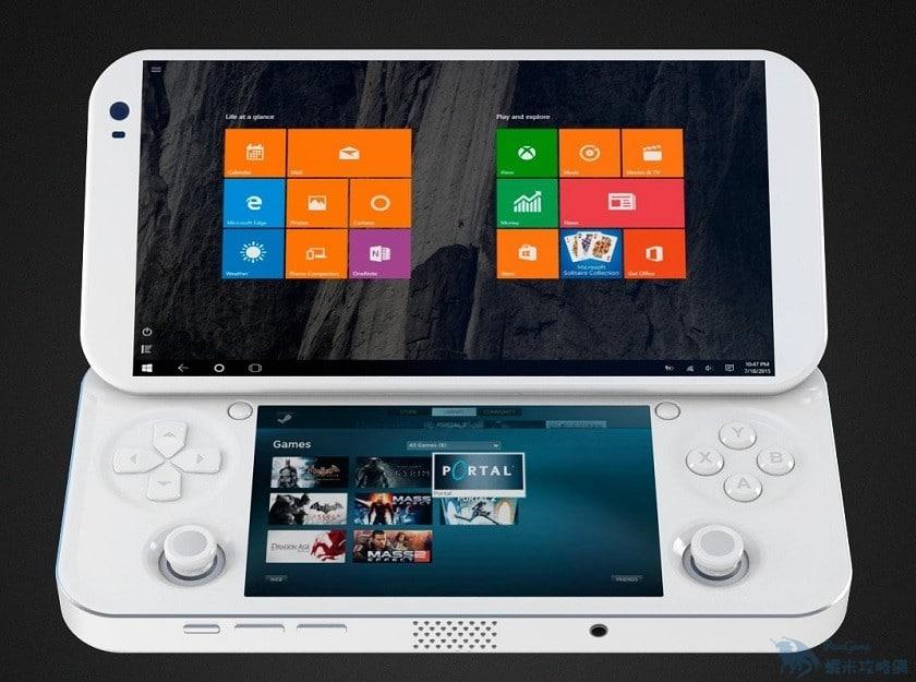 全球首款Windows 10掌機即將面世 手上也能玩PC大作