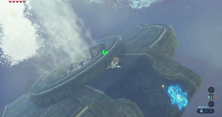 薩爾達傳說荒野之息 水神獸迷宮攻略