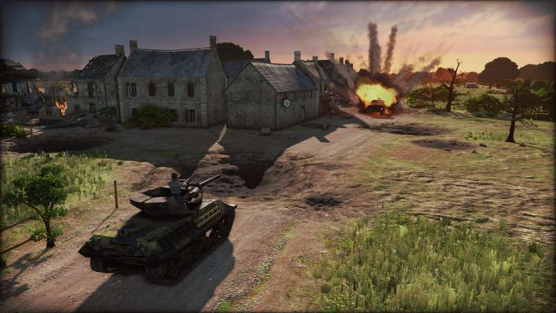 Steel Division: Normandy 44 多人模式盟軍戰術思路分享