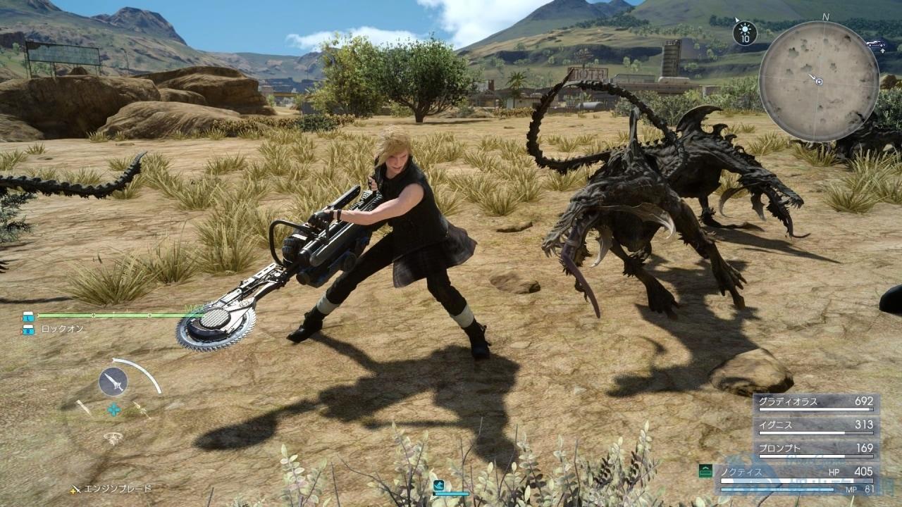 最終幻想 15 Final Fantasy XV(FF15) 快速跑圖刷狩獵任務技巧