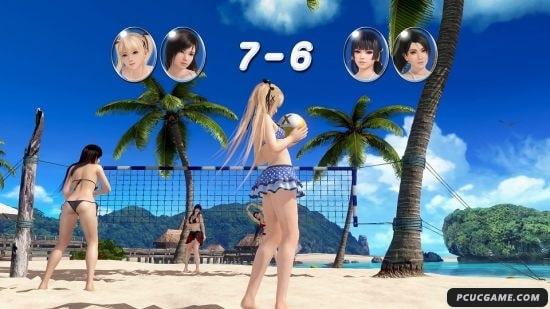 生死格鬥:沙灘排球3 排球怎麼打 HARD難度打排球技巧