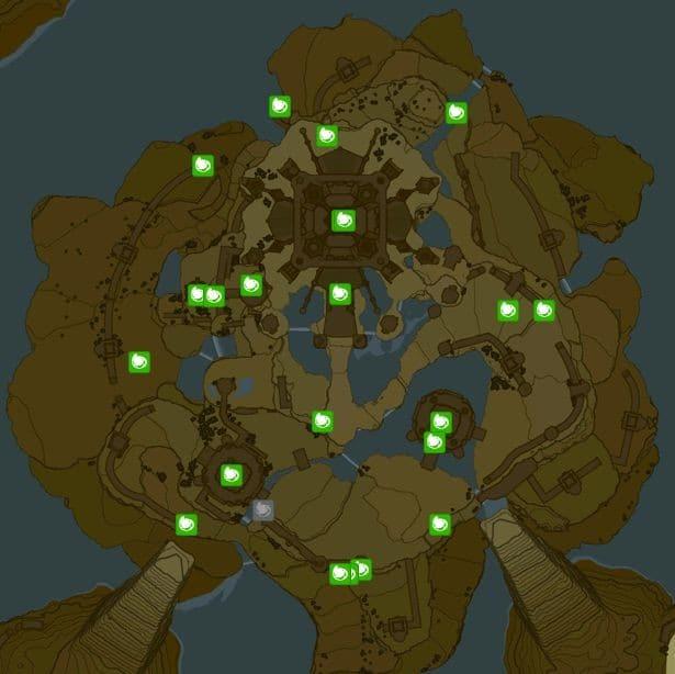 薩爾達傳說荒野之息 城堡呀哈哈種子收集攻略