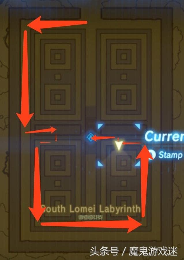 薩爾達傳說荒野之息 聖殿迷宮走法攻略 野蠻人盔甲獲得方法
