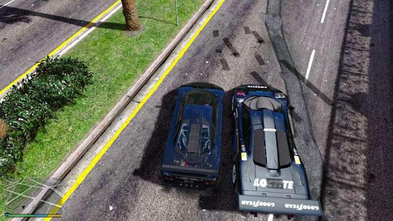 GTA5 遊戲車輛和真實車輛對比