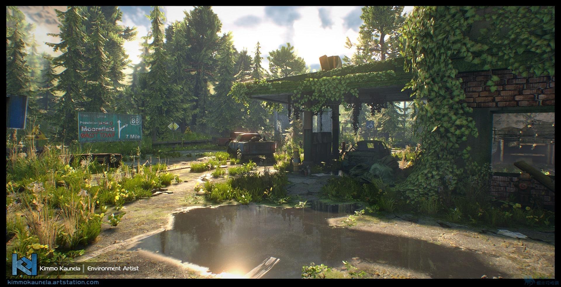 虛幻4引擎渲染《最後生還者》會怎樣?答案真神了