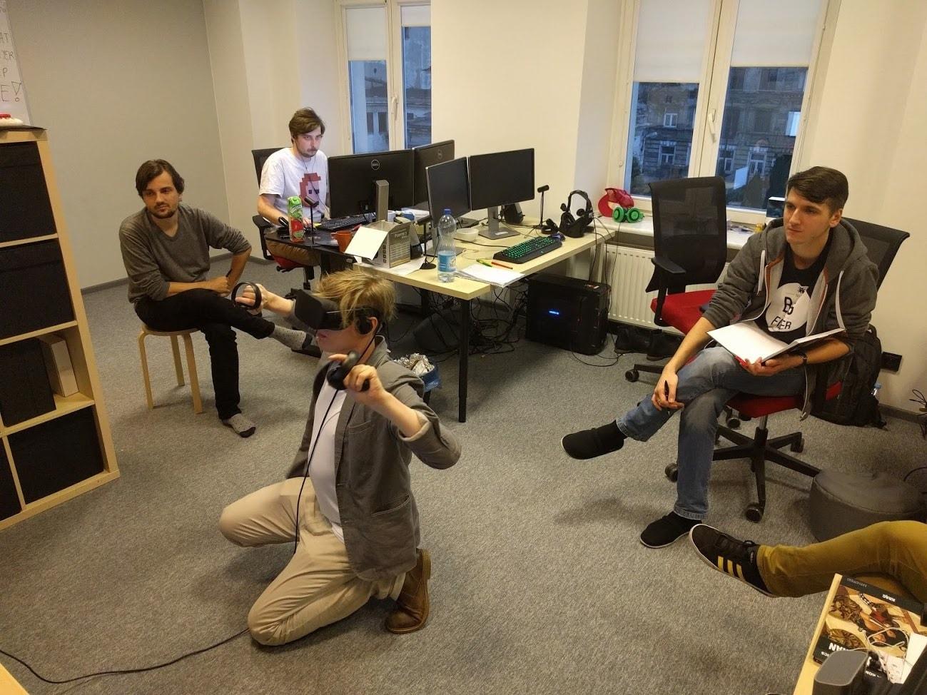 結合時空凍結和子彈時間要素射擊遊戲《SuperHot》VR 版推出《SuperHot》