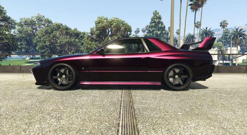 GTA5車輛配色推薦 各種豪車華麗配色