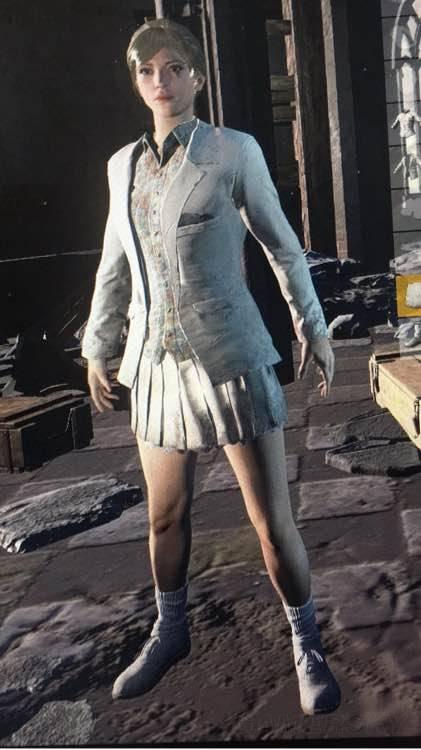 絕地求生 裙子與短褲搭配教學 白裙子與短褲搭配方法