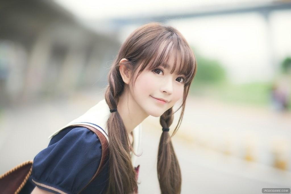 秀色可餐啊 韓國第一美少女Yurisa清新養眼學生裝