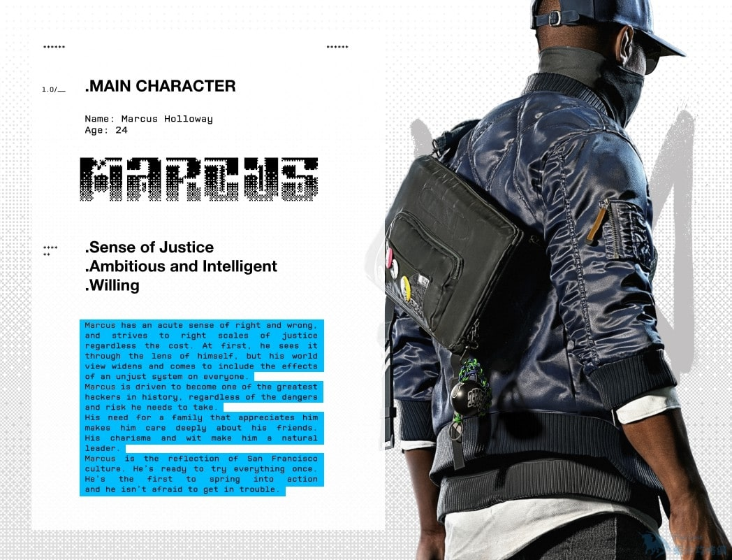 E3 2016:《看門狗2》主角造型細節公布 當代駭客標配?