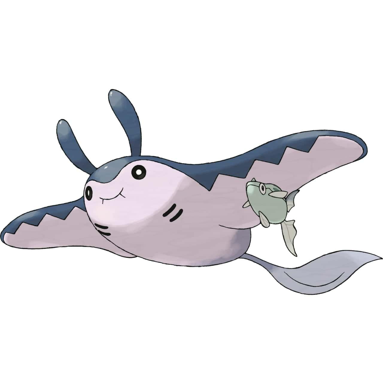 【攻略】Pokemon GO 巨翅飛魚屬性圖鑑 巨翅飛魚怎麼樣