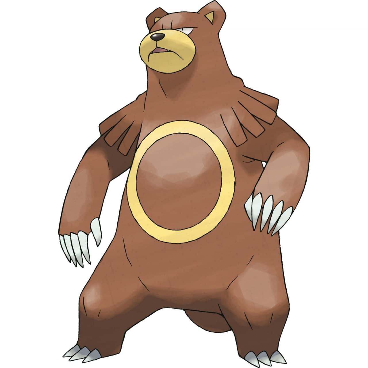 【攻略】Pokemon GO 圈圈熊屬性圖鑑 圈圈熊屬性怎麼樣