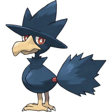 【攻略】Pokemon GO 黑暗鴉屬性圖鑑 黑暗鴉怎麼樣