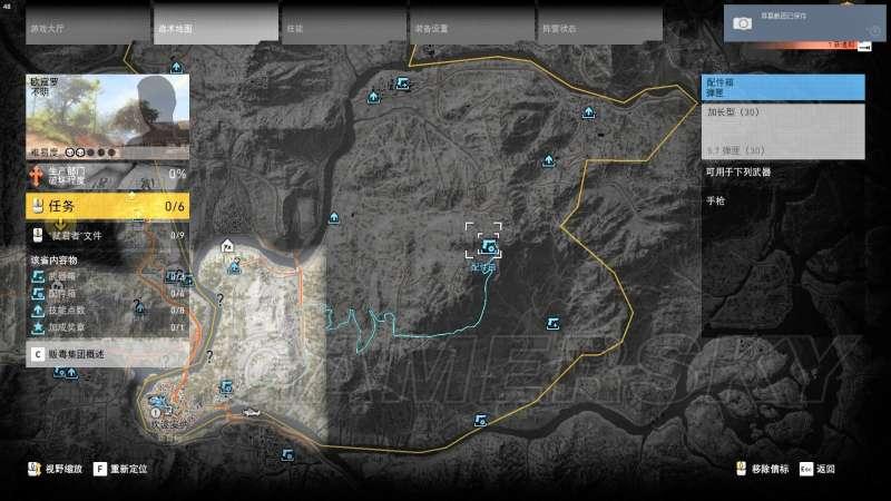 火線獵殺:野境 全武器及配件位置總覽 武器與配件解鎖地點大全