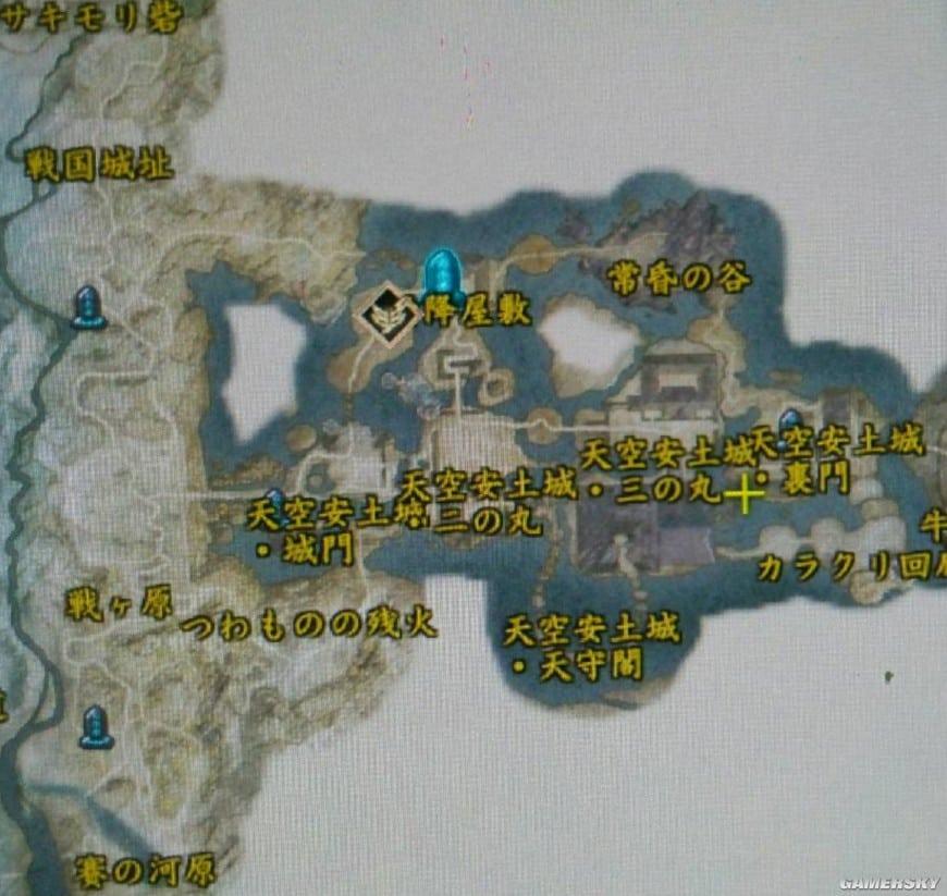 討鬼傳2 全地圖區域介紹 地圖