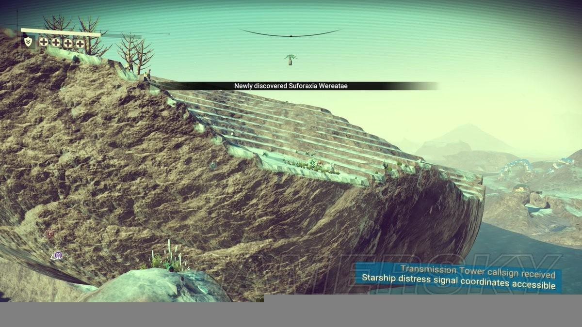 No Man's Sky 生物植物與遺迹飛船圖文介紹 風景與海岸