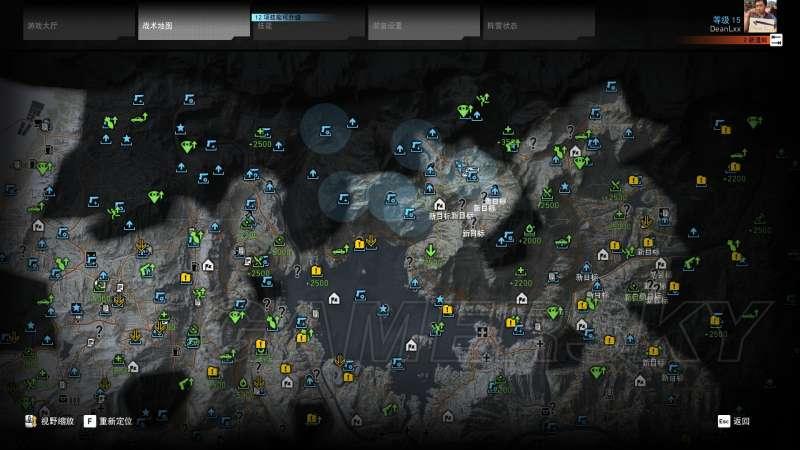 火線獵殺:野境 技能點獎章及支線位置 怎麼獲得技能點