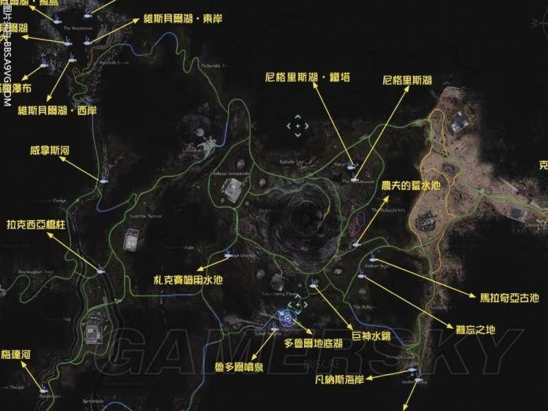 最終幻想 15 Final Fantasy XV(FF15) 全釣魚地點位置地圖 全魚場位置