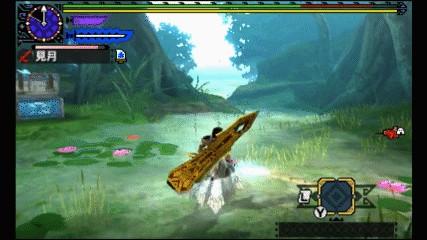 魔物獵人XX 勇氣太刀gp時間測試