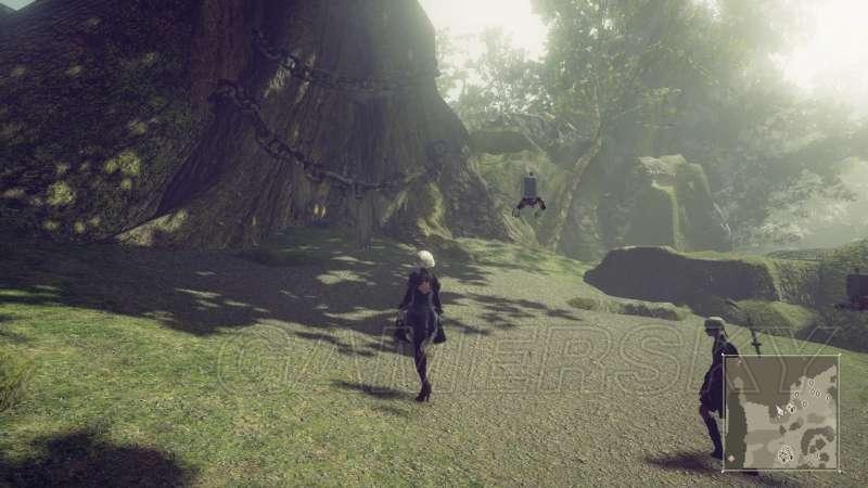 尼爾 自動人形 全武器收集攻略 武器獲得方法及屬性特效