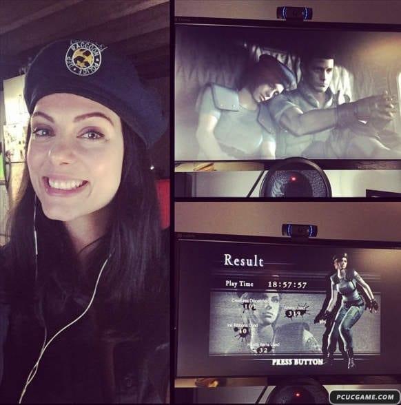 惡靈古堡《吉兒cosplay》真的是吉兒臉部模特兒Julia Voth本人啊!