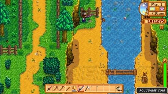 星露穀物語 Stardew Valley 全地點季節釣魚時間表