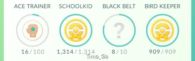 【攻略】 Pokemon GO 全成就達成方法 成就表