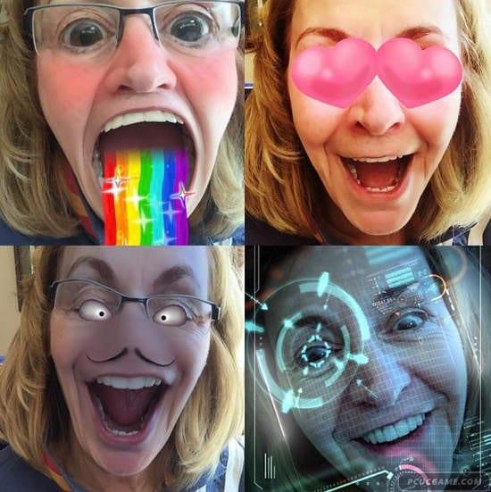 網路正夯《動畫搞笑濾鏡》看是要變殭屍還是要吐彩虹 還是淚眼汪汪的臉呢?