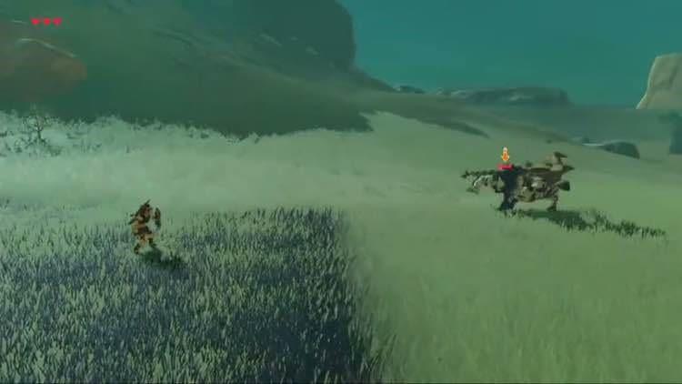 薩爾達傳說荒野之息 新手盾反技巧介紹