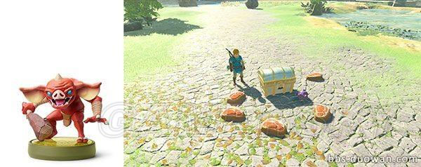 薩爾達傳說荒野之息 全Amiibo效果說明