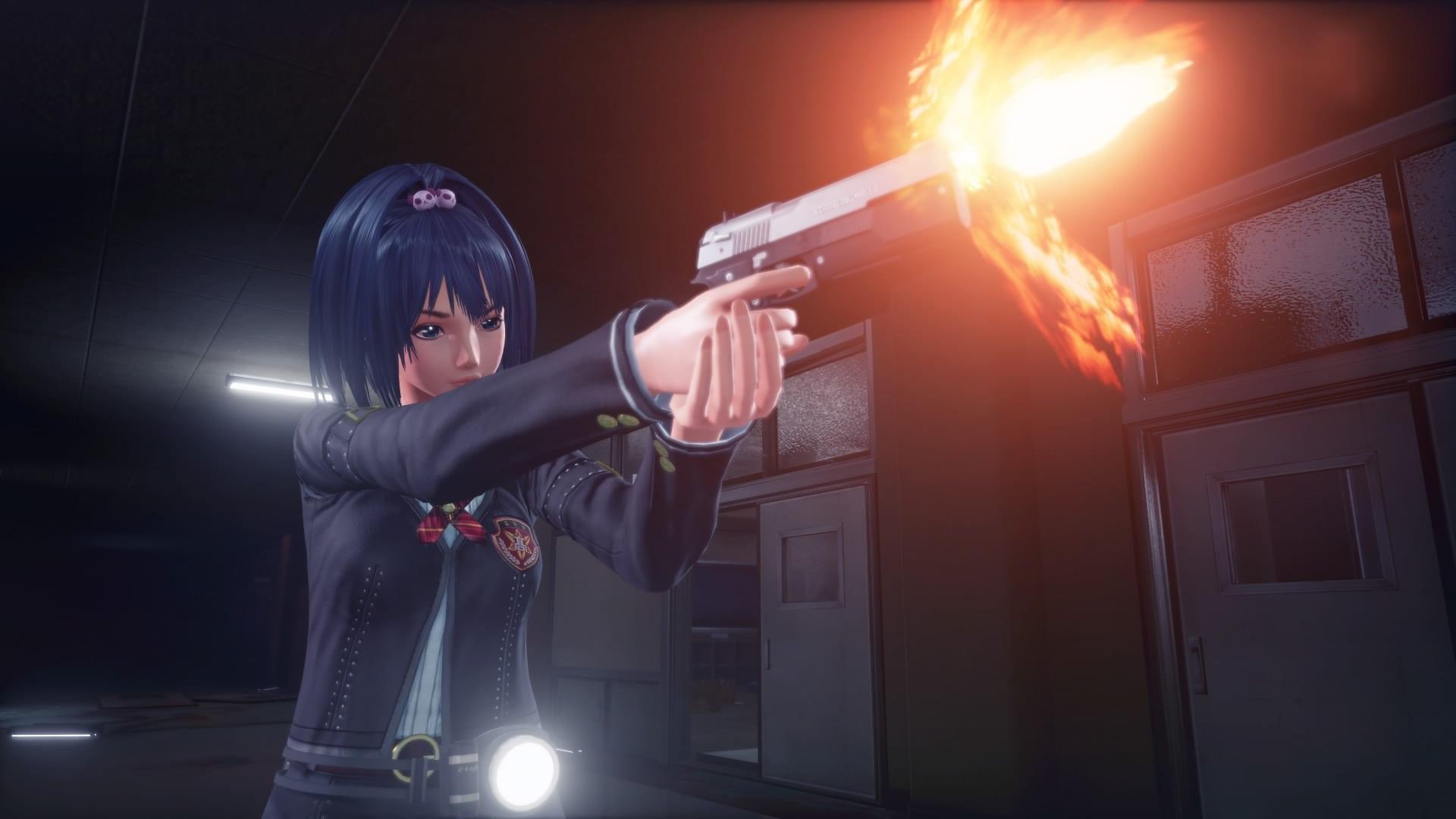 【TGS 16】殭屍的目標是衣服?PS4 射擊動作新作《女高中生殭屍獵人》公開《SG/ZH School Girl/Zombie Hunter》
