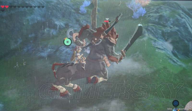 薩爾達傳說荒野之息 特殊坐騎騎乘方法