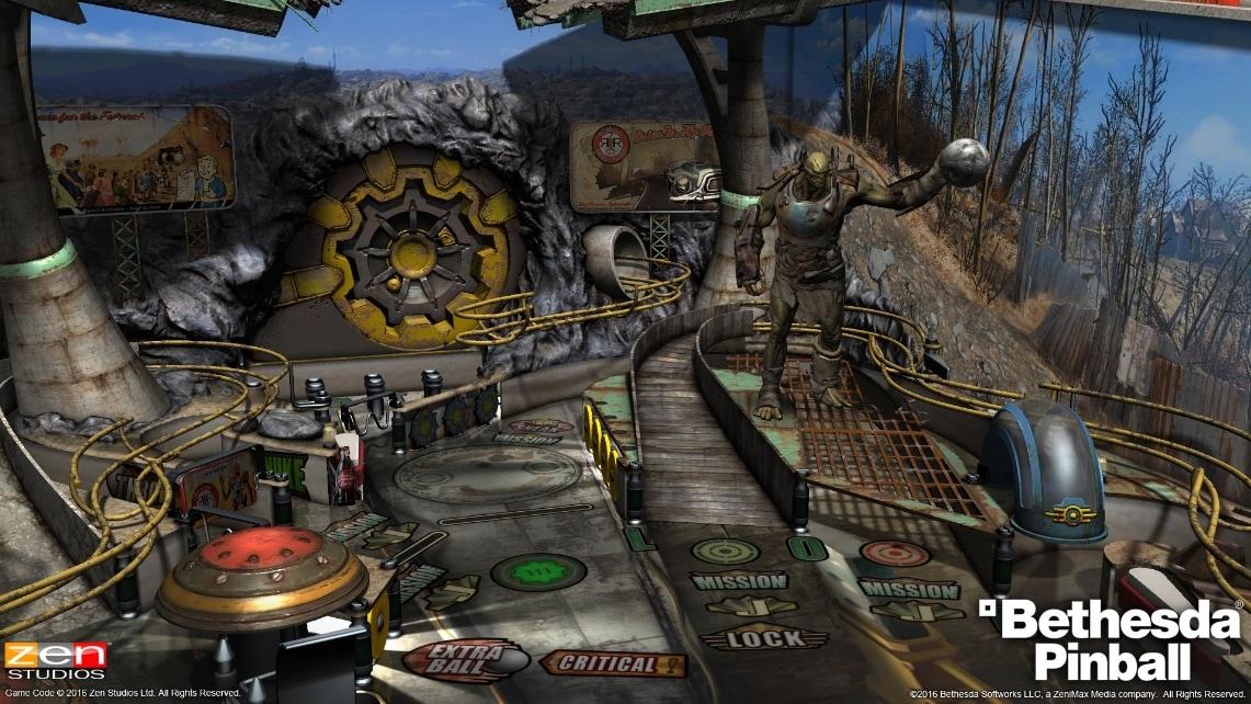 彈珠台遊戲《Bethesda Pinball》釋出宣傳影片 主題將囊括旗下三大招牌遊戲