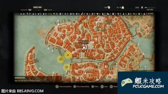 巫師 3:狂獵 一鍵開地圖等技巧