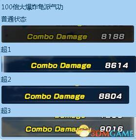 七龍珠 異戰 2 超級賽亞人與超級貝吉塔傷害測試