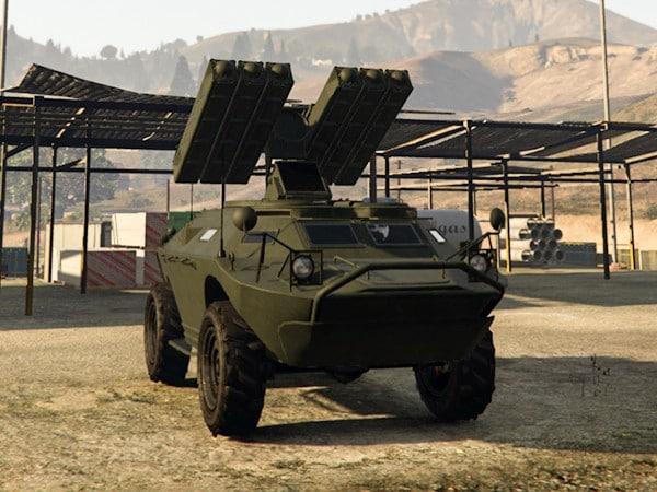 GTA5 軍火貿易DLC載具圖鑑及原型