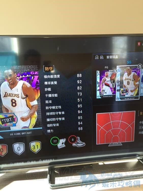 NBA2K16 MT模式控球後衛得分後衛推薦及用法分析