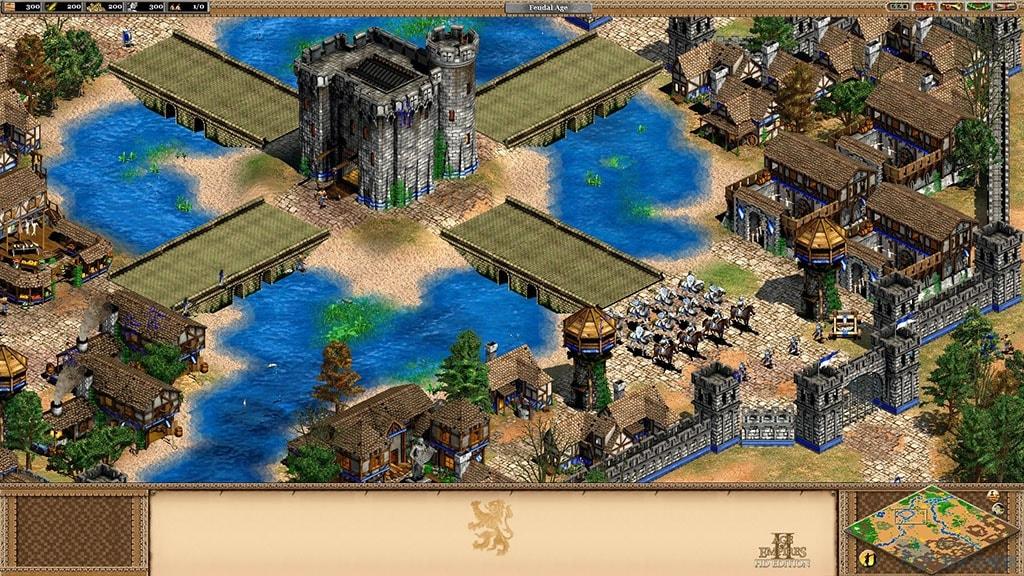 世紀帝國2高清版 免安裝中文綠色版 下載