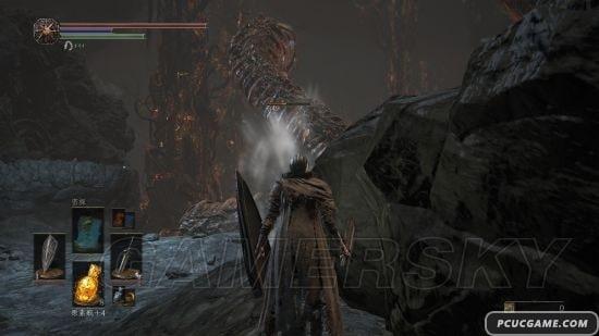 黑暗靈魂3 雷光柱獲得及巨蟲打法 巨蟲怎麼打