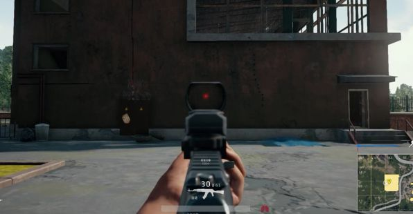 絕地求生 AK紅點瞄準鏡壓槍教學 絕地求生AK怎麼壓槍