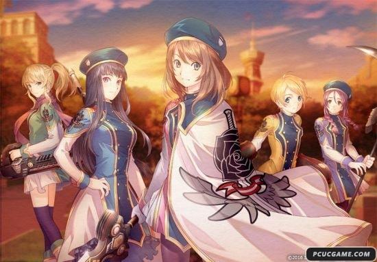 PS4新作《黑薔薇的女武神》新情報 萌妹拯救世界